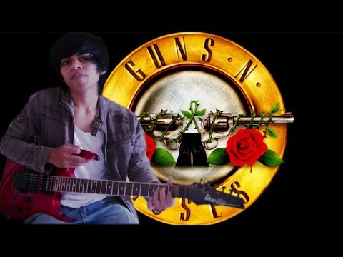 Sweet Child O' Mine - Guns N Roses Versi Dangdut Koplo Guitar Cover By Mr. Jom
