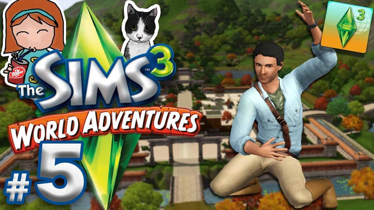 the sims 3 world adventures 5 dragon cave china. Black Bedroom Furniture Sets. Home Design Ideas