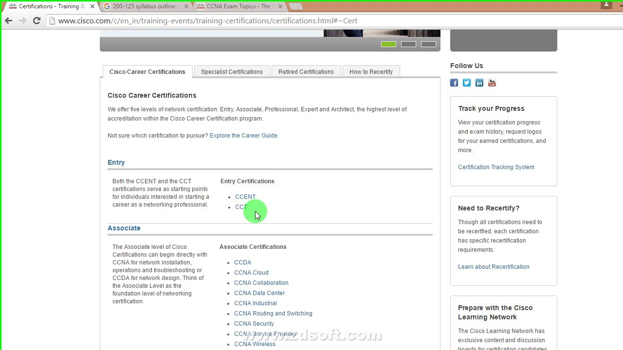 Cisco Introduction And Certification Path In Hindi Youtube