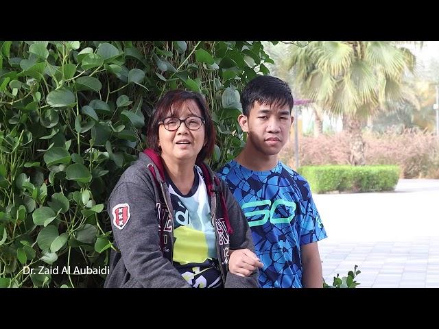 John and his mother testimonial