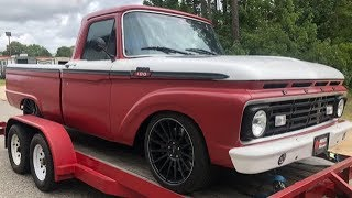 1964 FORD F100-2016 MUSTANG GT TRUCK!!!