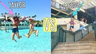 Photoshoot challenge with TAYLOR AND VANESSA