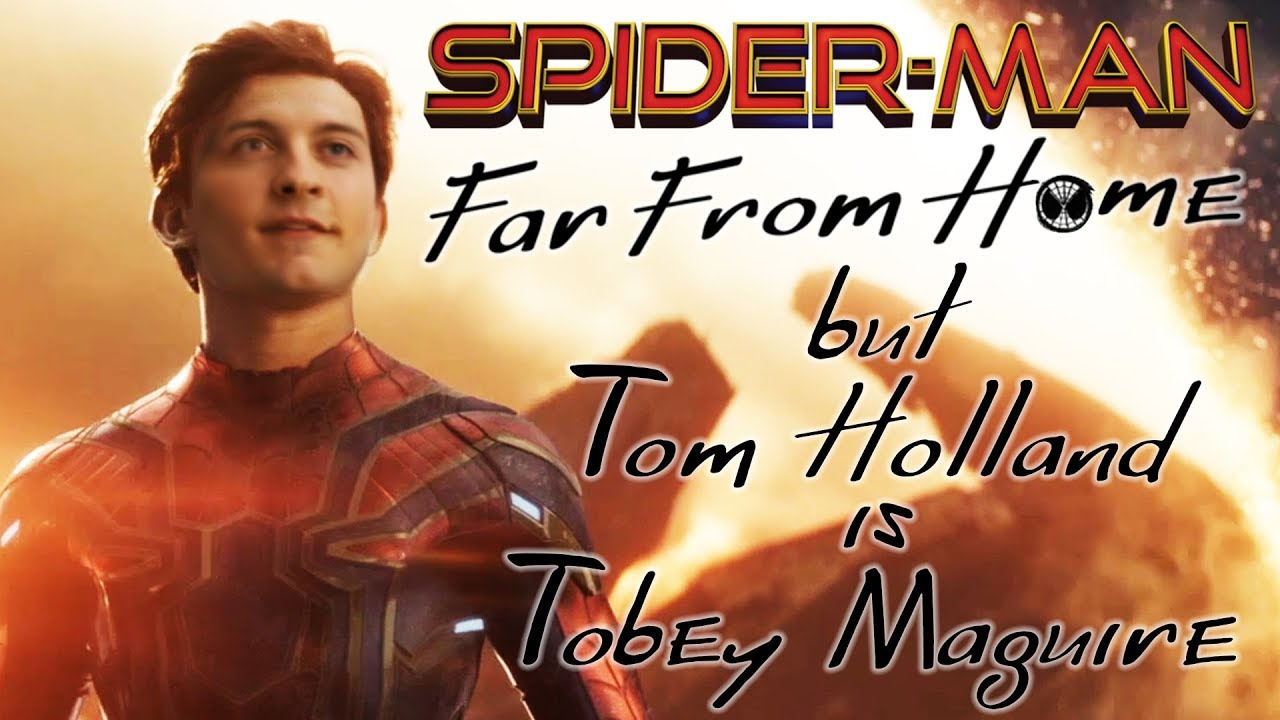 Spider-Man: Deep fake replaces Tom Holland with Tobey