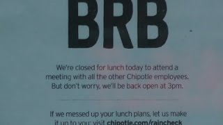 Raw: Food Safety Meeting Delays Chipotle Opening