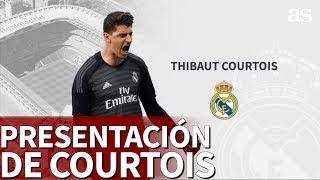 La presentación de Courtois con el Real Madrid | Diario AS