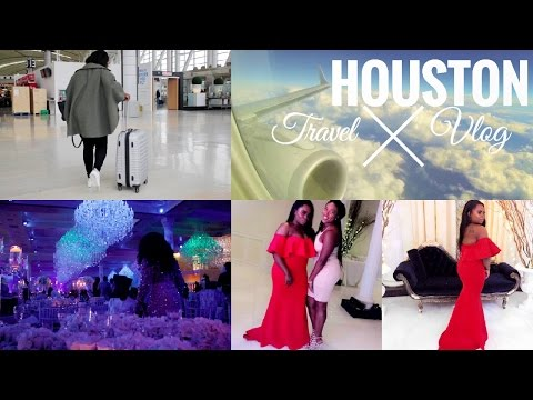 TRAVEL VLOG 1: HOUSTON, TEXAS | NIGERIAN WEDDING | FAMILY TIME