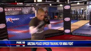 Arizona Police Officer Trains For Mma Fight