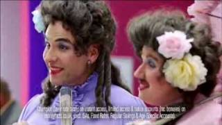 David Walliams Mat Lucas Nationwide ad with Little Britain's Emily and Florence.flv