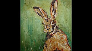 How I painted the Hare