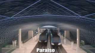Video de como será la Línea 2 del Metro de Panamá, !Pronto una realidad!