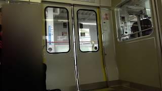 JR西日本 223系2000番台 W23編成 ドアチャイム&ドア閉シーン 高槻にて