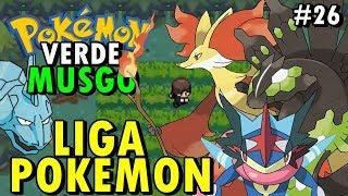 Pokémon Verde Musgo (Detonado - Parte 26) - Floresta Amazônica e Liga Pokémon