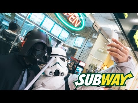 The Force Awakens Chinese Premiere | Subway