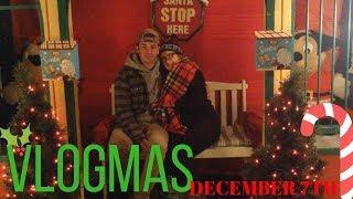 Looking At Christmas Lights W/ Geoff VLOGMAS #7 // Camsglam
