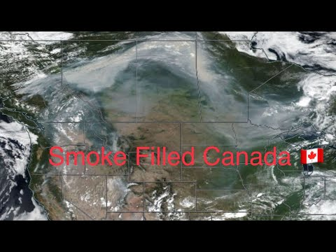 Global Weather/Earthquake Update/Calgary HEAT Records/Smoke Across Canada 8/10/2018