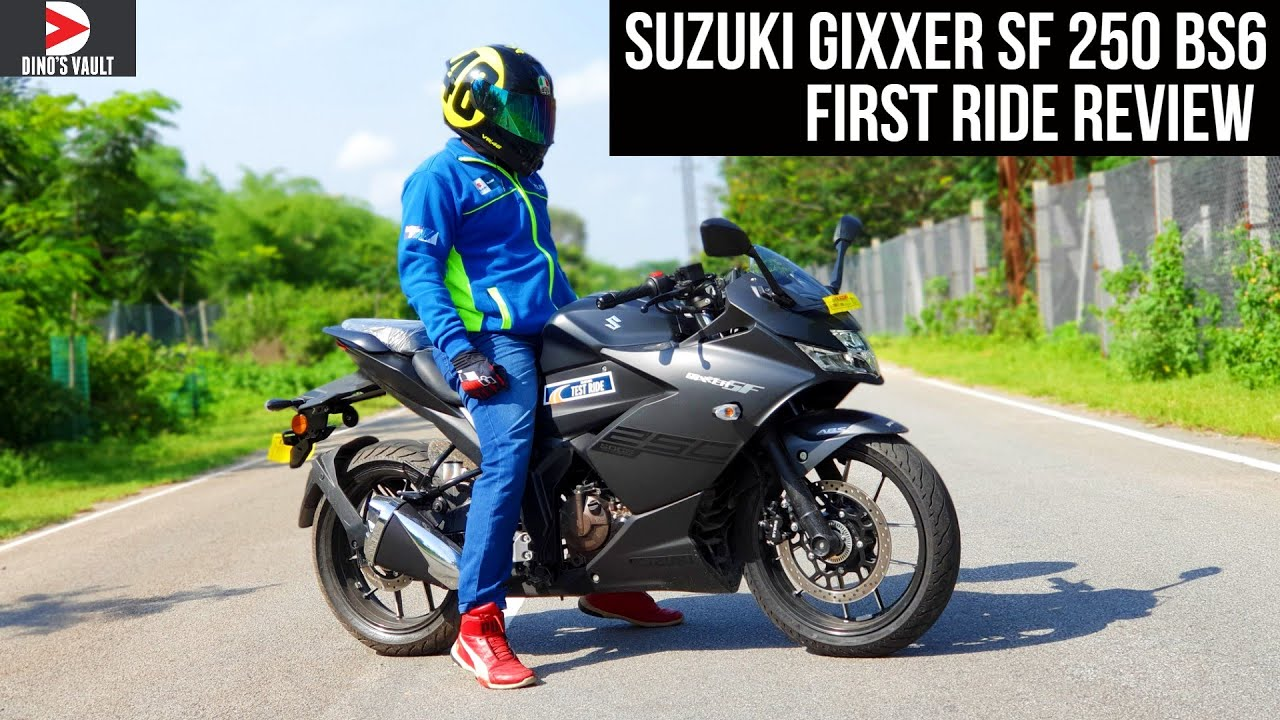 video Suzuki Gixxer SF 250