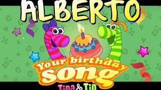 Tina & Tin Happy Birthday ALBERTO