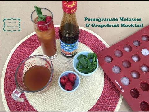 Pomegranate Molasses & Grapefruit Mocktail I Oby Nnadi