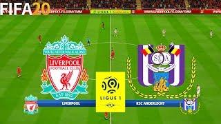 FIFA 20   Liverpool vs Anderlecht - Super Ligue 1 - Full Match & Gameplay