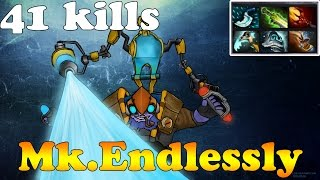 Dota 2 - Mk.Endlessly subscriber plays Tinker - Pub gameplay