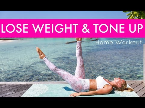How to Lose Weight & Tone Up – HOME WORKOUT | Rebecca Louise