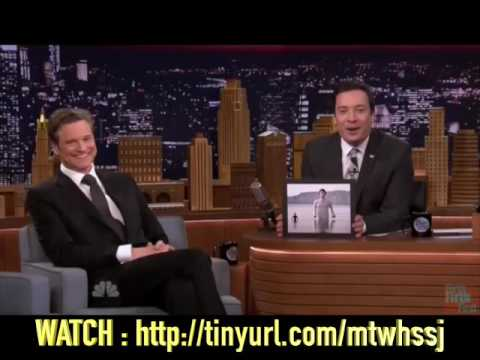 Colin FIRTH spills the...