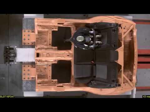 Crash Test Cybex Aton Q i-Size + Base Q i-Size, Prueba de impacto RACE 2016