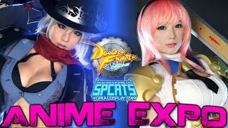 Anime Expo 2016 - DFO & SpiralCats Cosplay interview + Montage!