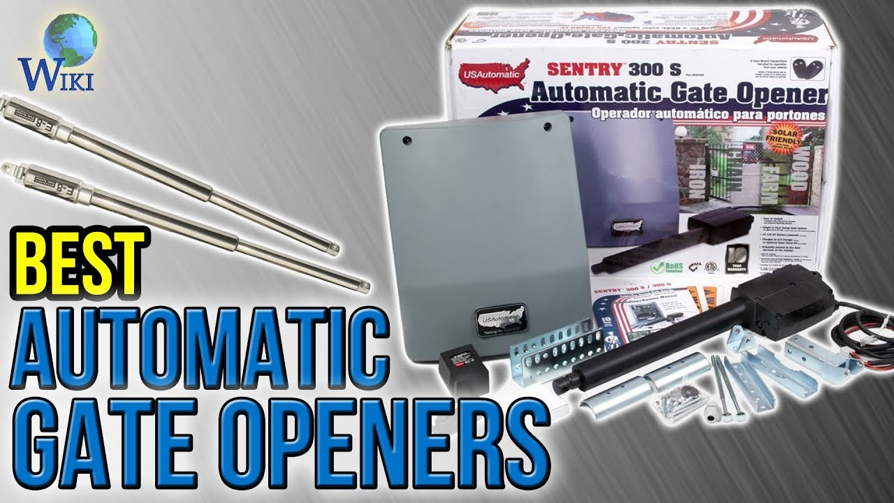 Automatic Gates Openers Residential 6 Best Automatic Gate Openers 2017