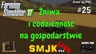 🔴 Żniwa i codzienność na gospodarstwie Nowa Ameryka - Farming Simulator 17 PS4 PL LIVE #25
