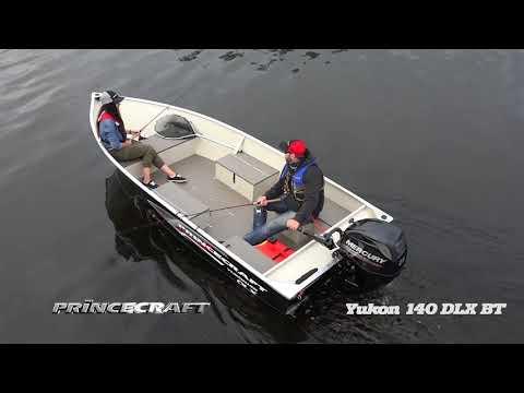Princecraft 2018 - Yukon 140 DLX BT - Fishing utility boat - Chaloupe de pêche