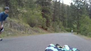 Longboard Knox Mountain Kelowna