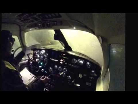 Une journée avec un pilote - PA31 Cargo - Vol complet