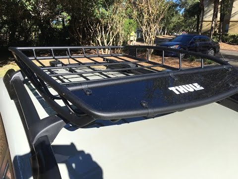 Thule Canyon 859 Roof Rack- Subaru Crosstrek