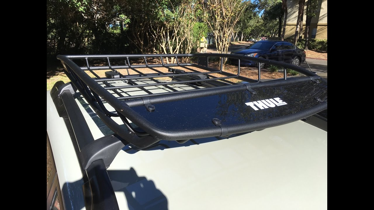 Thule Canyon 859 Roof Rack Subaru Crosstrek Youtube