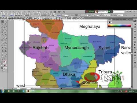 HOW TO CREATE BANGLADESH GOVERNMENT LOGO IN ADOBE ILLUSTRATOR