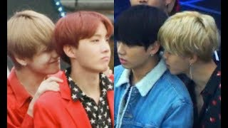 vhope jikook similarities part 3 🐰🐣🐾💖🐯🌞💜💜 HD