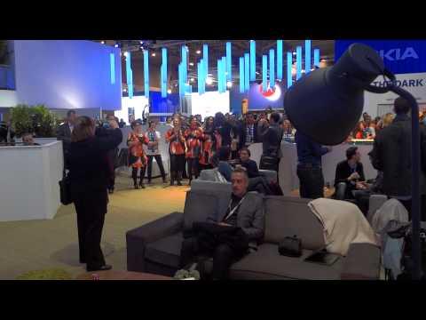 Karaoke cu reprezentantii Nokia @ MWC 2013