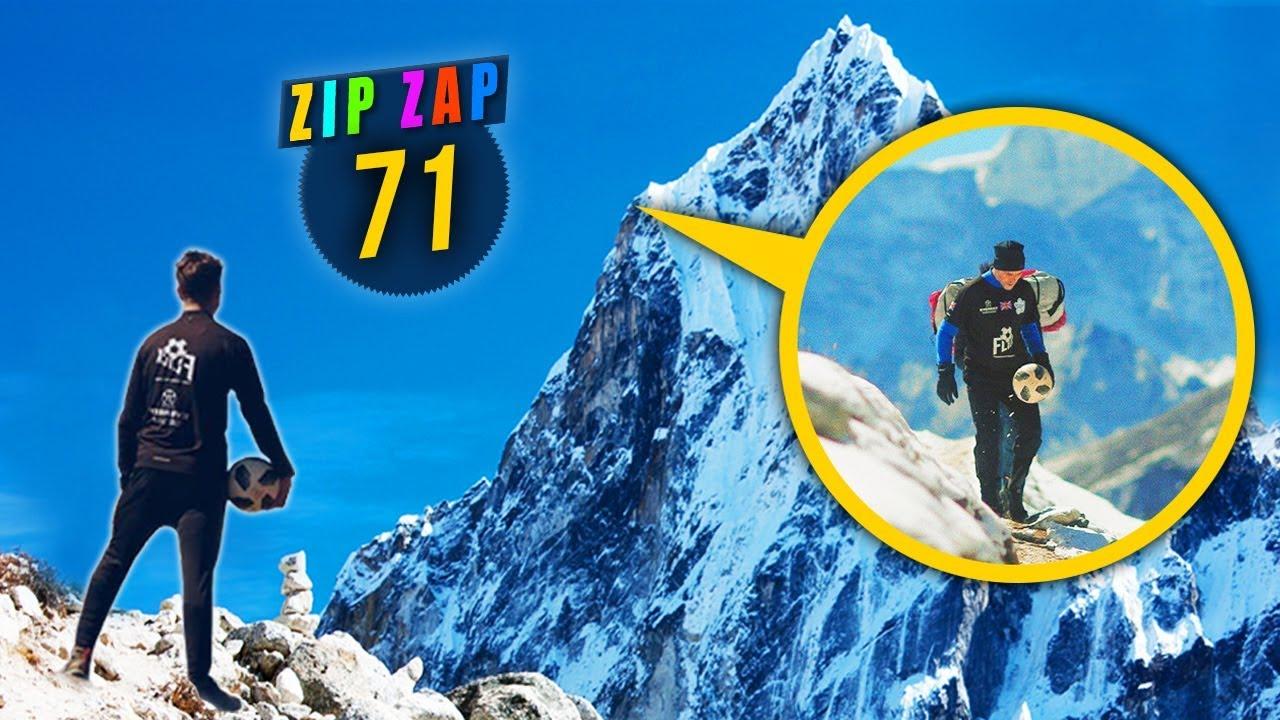 IL GRIMPE LE MONT EVEREST EN JONGLANT! - #ZIPZAP71