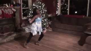 Grace dancing to Who You Say You Are by Jeremiah Bowser