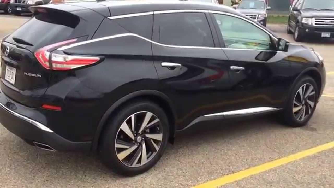2017 Nissan Murano Black 2016