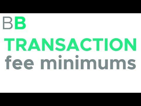 Transaction Fee Minimums | Blockchain Explained by Blockchain Bits