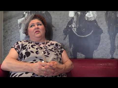 Cheryl Fergison on her Ladies Day character