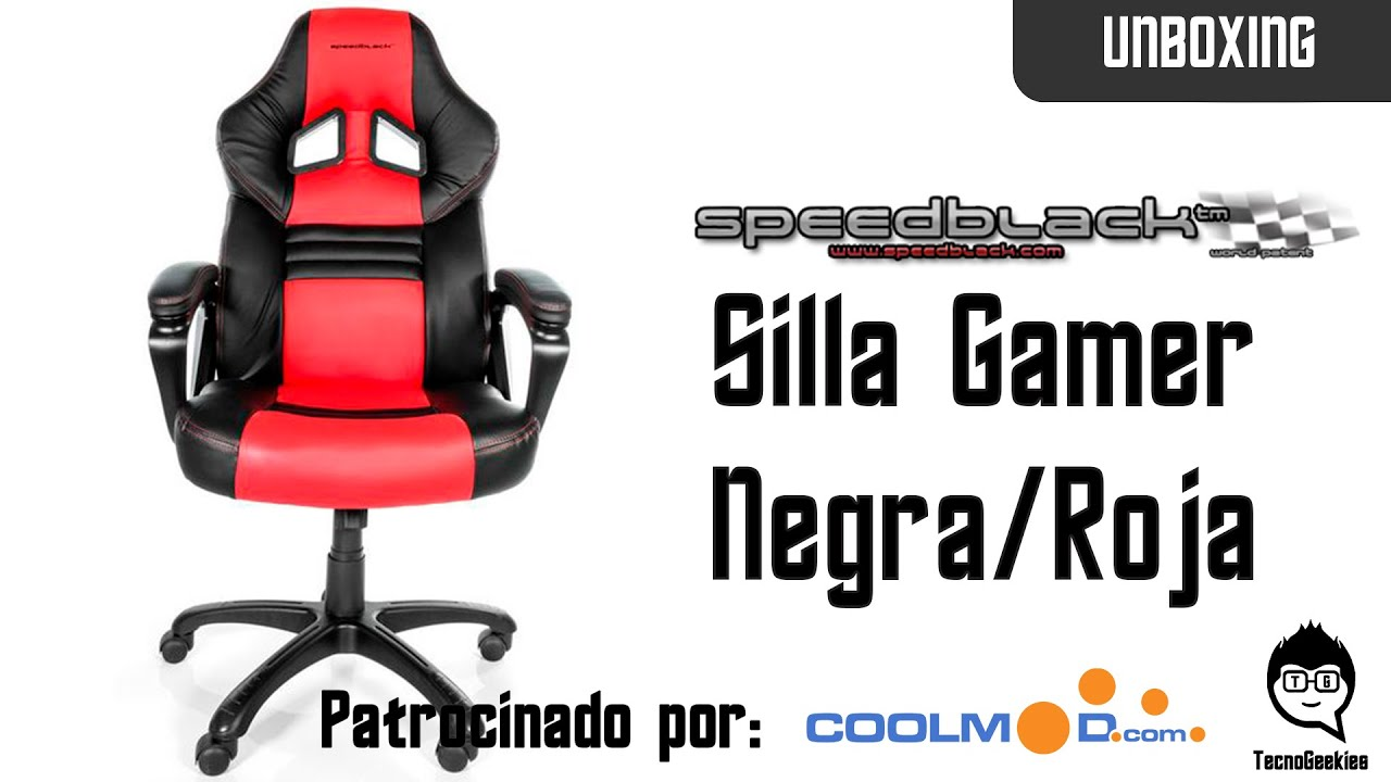 unboxing y montaje silla gamer speedblack de coolmod