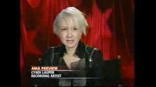 Cyndi Lauper American Music Awards (2005) Interview