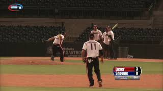 2014 USSSA Hall of Fame Classic - Laservision vs Backman