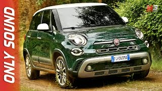 New fiat 500L 2017 - first test drive only sound