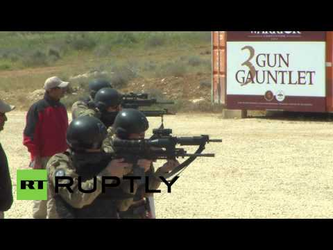 Jordan: Russian, Kazakh and Jordanian soldiers battle for Warrior Competition