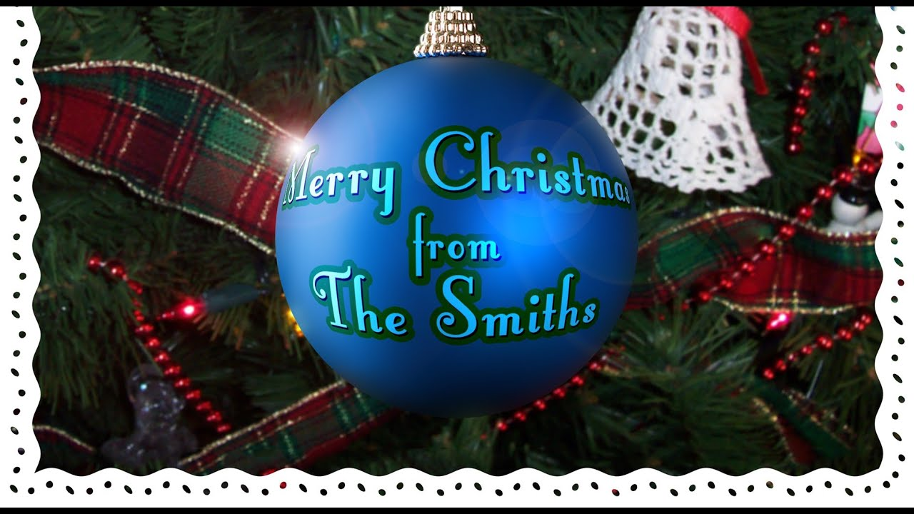 Photoshop how to make a custom christmas card with your own photoshop how to make a custom christmas card with your own greeting on a christmas ball ornament youtube baditri Gallery
