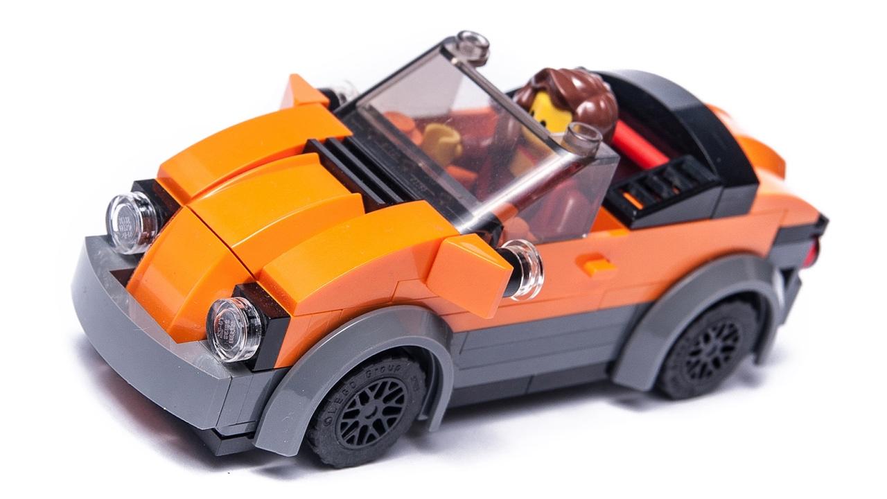 how to make lego stuff city cabrio car moc tutorial. Black Bedroom Furniture Sets. Home Design Ideas